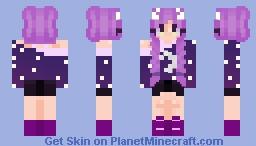 Shooting stars~ // Old skin like very very old Minecraft Skin