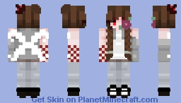 《 human is my middle name 》 Minecraft Skin