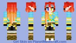 Vapii version Zelda Minecraft Skin