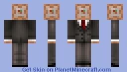 Mr. Command Block Minecraft Skin