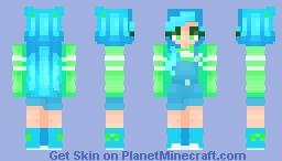 -=+ The Deep Sea's Awakening +=- Minecraft Skin