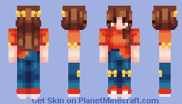 +Don't Fall+ Minecraft Skin