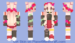*.=+ Surrounded by Roses +=.* Minecraft Skin