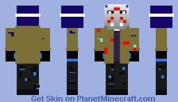 blujay voorhees Minecraft Skin
