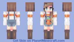 -=+=- Pumpkin Patch // Skintober Day 21 // popreel! -=+=- Minecraft Skin