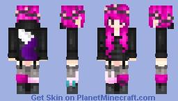 Sassy Rose // OC Minecraft Skin