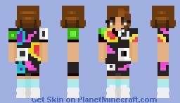 e l e v e n / e l +- stranger things ~+ Minecraft Skin