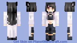 ♡ 𝓿𝒶𝓁𝓀𝓎𝓇𝒾𝑒𝓃 ♡ blake belladonna | rwby Minecraft Skin