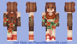 +::+ tiger lily +::+ Minecraft Skin