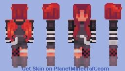 firestarter ~~ skinners olympics Minecraft Skin