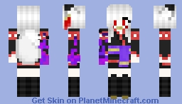 Mystic fox 2 -by Gregantus Minecraft Skin