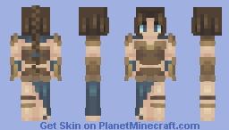 warrior ~~ skinners olympics Minecraft Skin