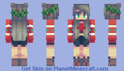 holly jolly christmas! :D Minecraft Skin