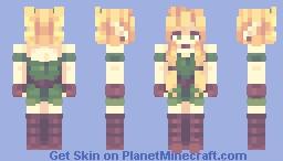 Persona #1: Elfie // + Q&A + speedpaint Minecraft Skin