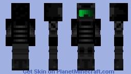 """MTF Eta-10 (""""See No Evil"""") Minecraft Skin"""