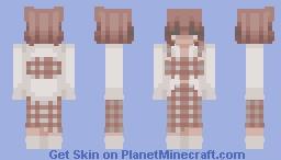 -+=_ Blouse Dress_=+- Minecraft Skin