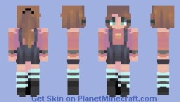 blood teller Minecraft Skin