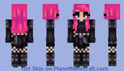 heavy metal ~~ Minecraft Skin