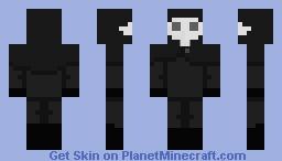 Sitting next to Death~ Minecraft Skin