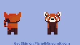 .:. r e d .:. Minecraft Skin