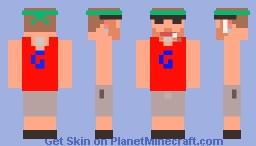 TGG - ThatGarboGamer Skin (Steve) Minecraft Skin