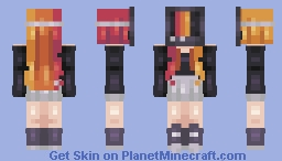 we'll be right back ~~ mask series Minecraft Skin
