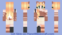 ~*+*~Foxes (RCE) ~*+*~ Minecraft Skin