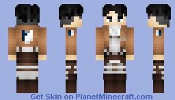 Levi Ackerman Minecraft Skin