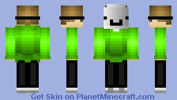 Dream Minecraft Skin