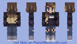 young lovers and they are not sleeping ~~ Minecraft Skin