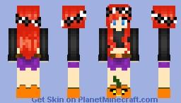 Halloween Girl Minecraft Skin