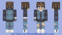 sokka ~~ modern atla series Minecraft Skin