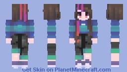 nijigen dream fever Minecraft Skin