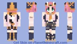 hourglass Minecraft Skin