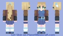 welcome my friend Minecraft Skin