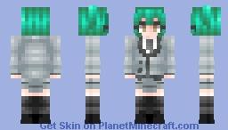 Kaede Kayano - Assasination Classroom Minecraft Skin