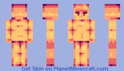 sunset!(shading base) Minecraft Skin