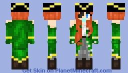 Pirate Girl Minecraft Skin