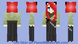Samurai Girl Minecraft Skin