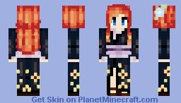 Japanese Empress Minecraft Skin