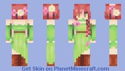 Forest Spirit of the woods Minecraft Skin