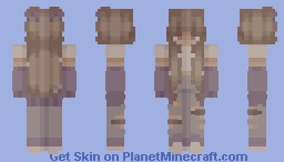 ♥ // amber skies // ♥ Minecraft Skin