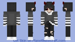 =-Dancing with the devil=- Minecraft Skin