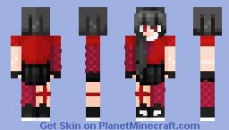 _Akame Fanskin Minecraft Skin