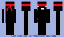 Black Ninja Skin Minecraft Skin