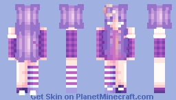 Up in the moon Minecraft Skin