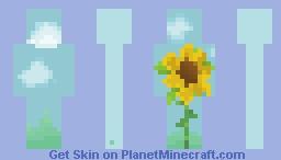 s u n f l o w e r Minecraft Skin