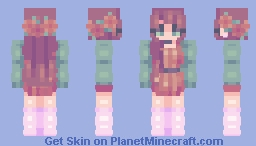potted plants Minecraft Skin