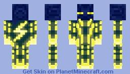 energy ender men Minecraft Skin