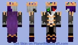 Prince Ranboo Minecraft Skin
